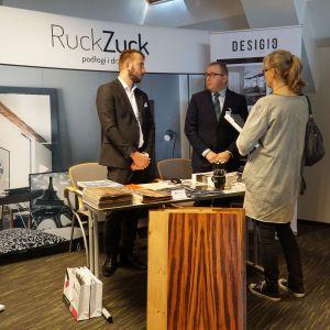 Studio Dobrych Rozwiązań w Warszawie 26 września 2018. Stoisko firmy Ruck Zuck (Domoprofi)