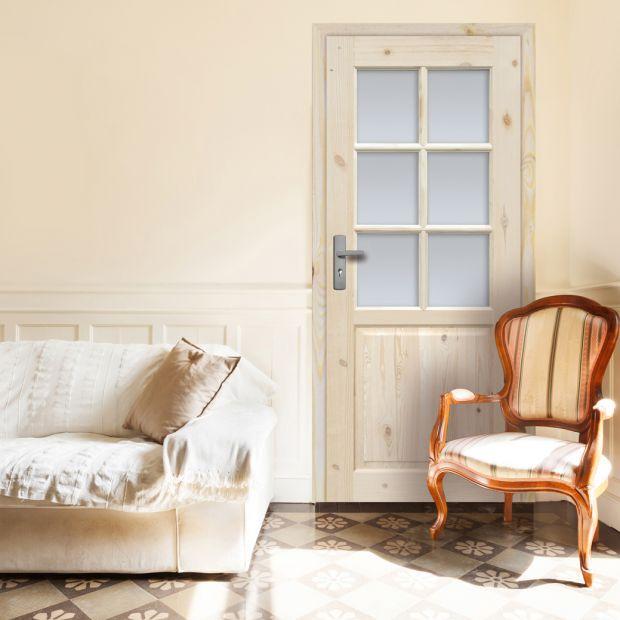 Wnętrze w stylu cottage - wybierz drzwi z drewna