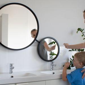 Scandi Duo - podwójne lustro łazienkowe z mechanizmem obrotowym/GieraDesign