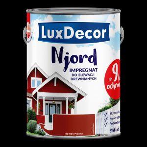LuxDecor Njord Impregnat do elewacji drewnianych/Primacol. Produkt zgłoszony do konkursu Dobry Design 2019.