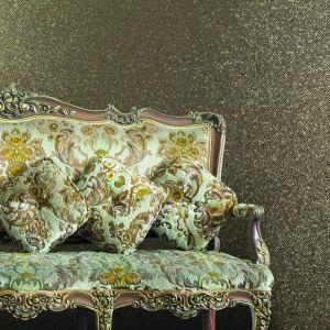 Nowoczesne i modne tapety z kwiatami i brokatem. Fot. Muraspec