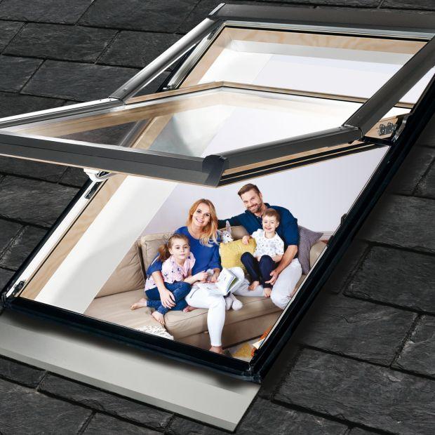 Okno wysokoosiowe Designo R79 WD/Roto