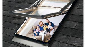 Wysokoosiowe okno dachowe Designo R79 z dolną klamką idealnie nadaje się do każdego pomieszczenia na poddaszu. Produkt zgłoszony do konkursu Dobry Design 2019.