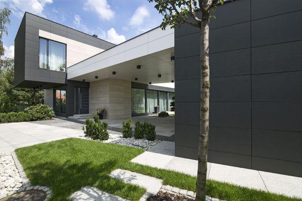 Innowacje na elewacji - zobacz ciekawy projekt domu