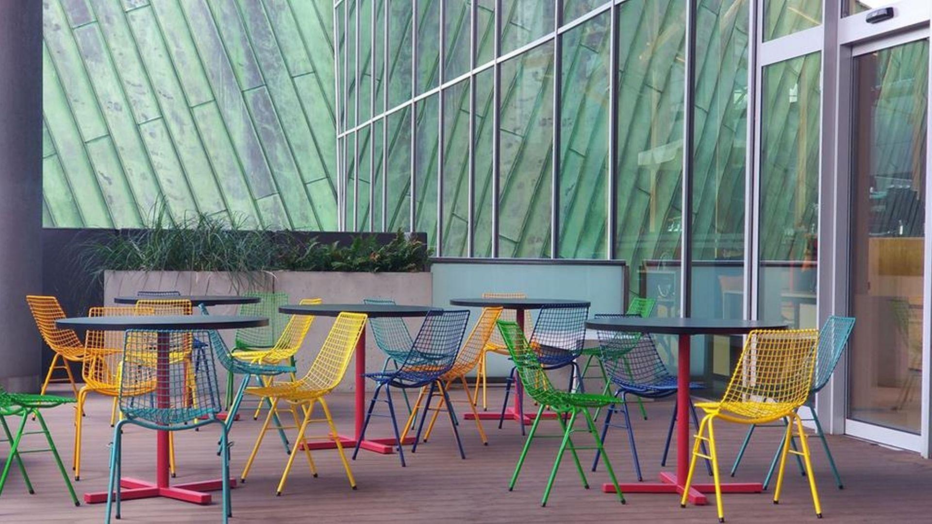 Krzesło siatkowe. Fot. PLN Design