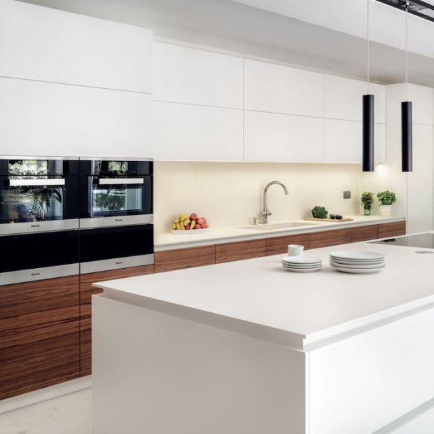 Londyńskie wnętrze i polski design - sposób na piękną kuchnię