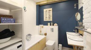Sąsiedztwo wejherowskiego krajobrazu zainspirowało właścicieli do urządzenia łazienki pełnej morskich nawiązań. Młodzi projektanci stworzyli wnętrze jedyne w swoich rodzaju, pełne wakacyjnego klimatu.
