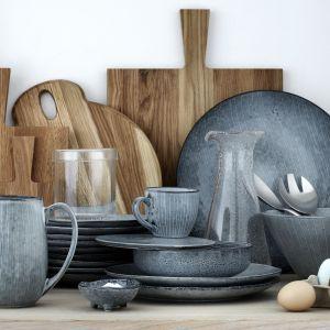 Kamionkowe naczynia z kolekcji Nordic Sea. Fot. Broste Copenhagen