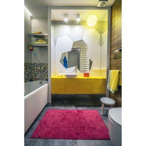 Rodzinny apartament na Saskiej Kępie - łazienka dzieci. Projekt: Viva Design. Fot. Dekorian Home
