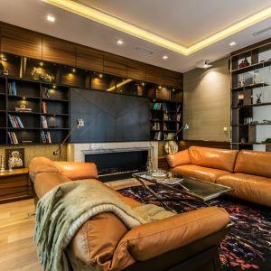 Rodzinny apartament na Saskiej Kępie - salon. Projekt: Viva Design. Fot. Dekorian Home
