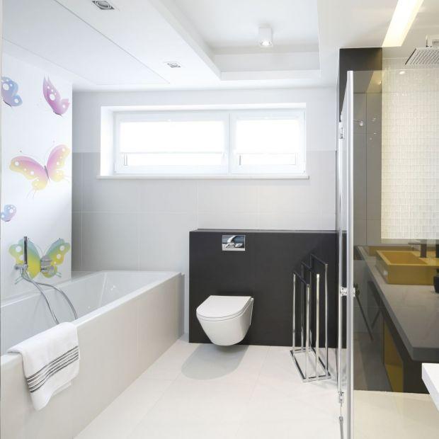 Wygodna łazienka - ciekawy projekt dla dzieci