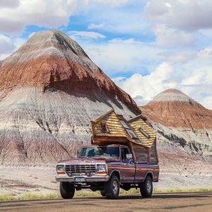 Nietypowy kształt dachu został celowo zaprojektowany tak, aby ułatwiać jazdę oraz niwelować działanie bocznego wiatru podczas prowadzenia samochodu. Fot. Sara Underwood
