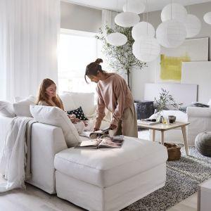 Sofa narożna 3-osobowa Grönlid z otwartym końcem. Fot. IKEA