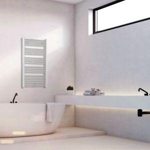 Nowoczesna łazienka - grzejnik Jupiter. Fot. Luxrad