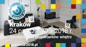 Już dziś możecie zarejestrować się na krakowskie spotkanie z cyklu Studia Dobrych Rozwiązań.24 października czekamy na architektów oraz projektantów ze stolicy Małopolski z solidną porcją informacji o najnowszych trendach i nowościach prod