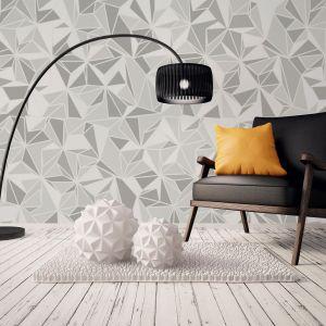 Wallmotion Muraspec to wielkoformatowe nadruki cyfrowe na podkładzie z tapety. W ofercie wzorów producenta są nadruki naśladujące naturalne materiały (metal, kamień, drewno, beton, szkło), jak również wzory kwiatowe, motywy graficzne, abstrakcje. Cechą charakterystyczną okładziny Wallmotion jest nie tylko realistyczna grafika, ale również realistyczna faktura. Fot. Muraspec