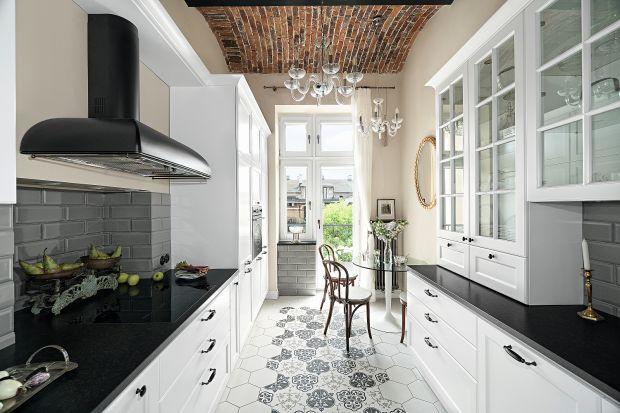 Urokliwa kuchnia w stylu klasycznym - zobacz gotowy projekt