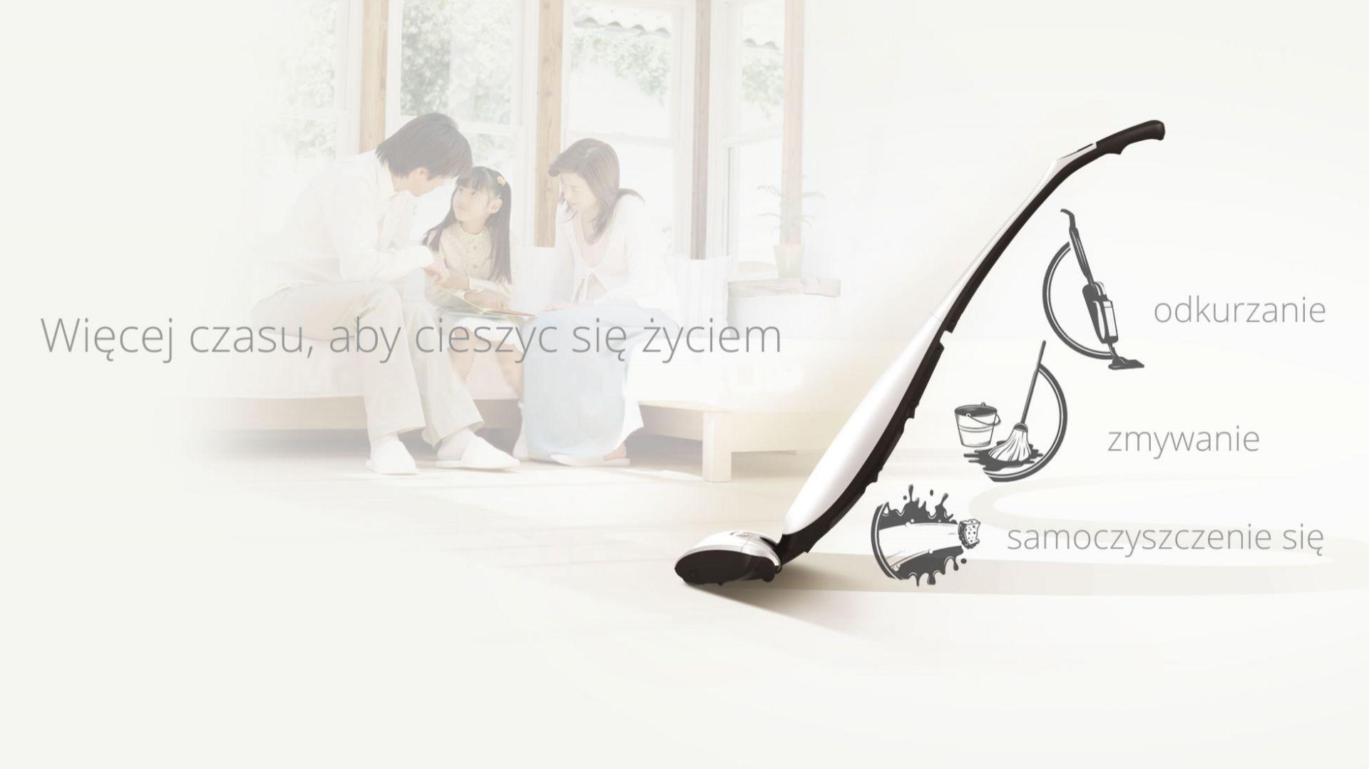 Hizero Bionic Mop 4 w 1/Sterna Polska. Produkt zgłoszony do konkursu Dobry Design 2019.