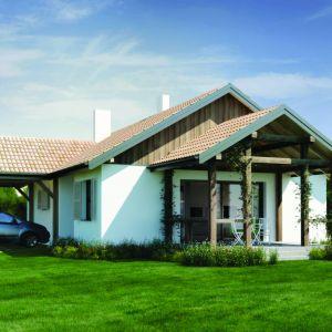 Dom w wersji murowanej. Dom N14. Projekt: arch. Sylwia Strzelecka. Fot. S&O Projekty Sylwii Strzeleckiej
