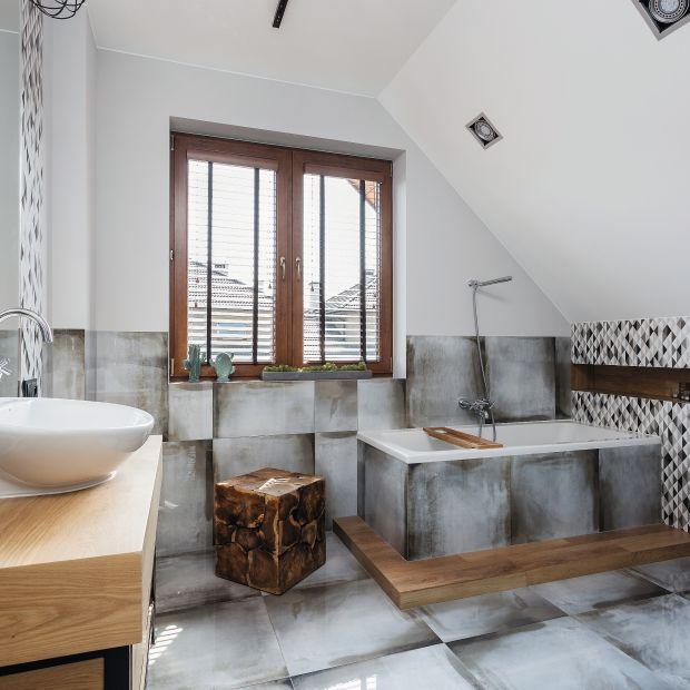 Łazienka w stylu industrialnym - zobacz ciekawy projekt