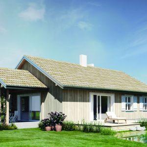 Dom w technologii drewnianej. Dom N14. Projekt: arch. Sylwia Strzelecka. Fot. S&O Projekty Sylwii Strzeleckiej