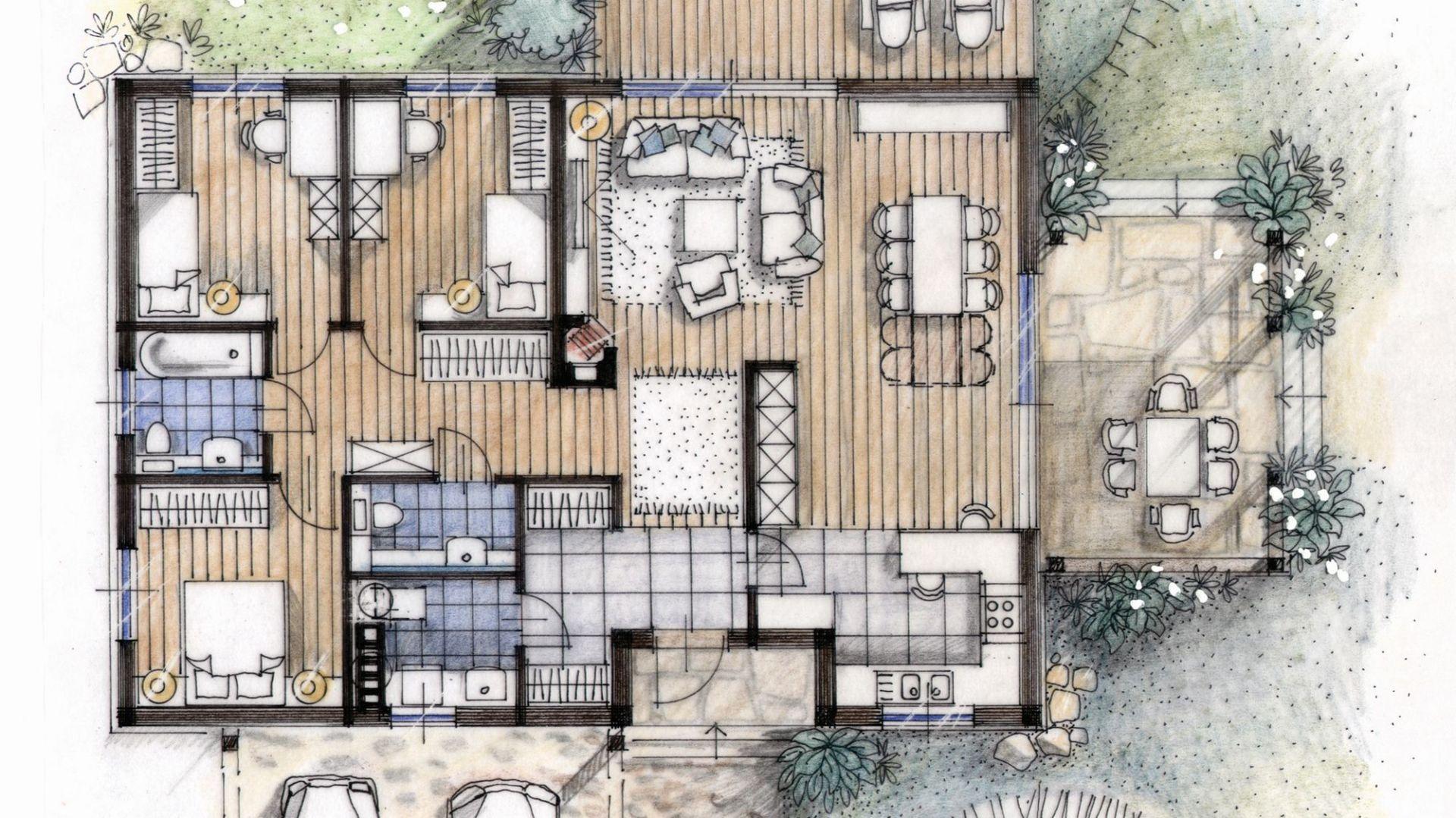 Zaktualizowano Mały dom - niedrogi w budowie i utrzymaniu QZ01