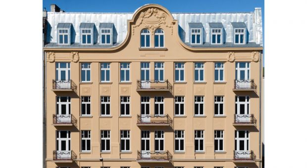 Kamienica Rybaka przy Brzeskiej 18 po renowacji