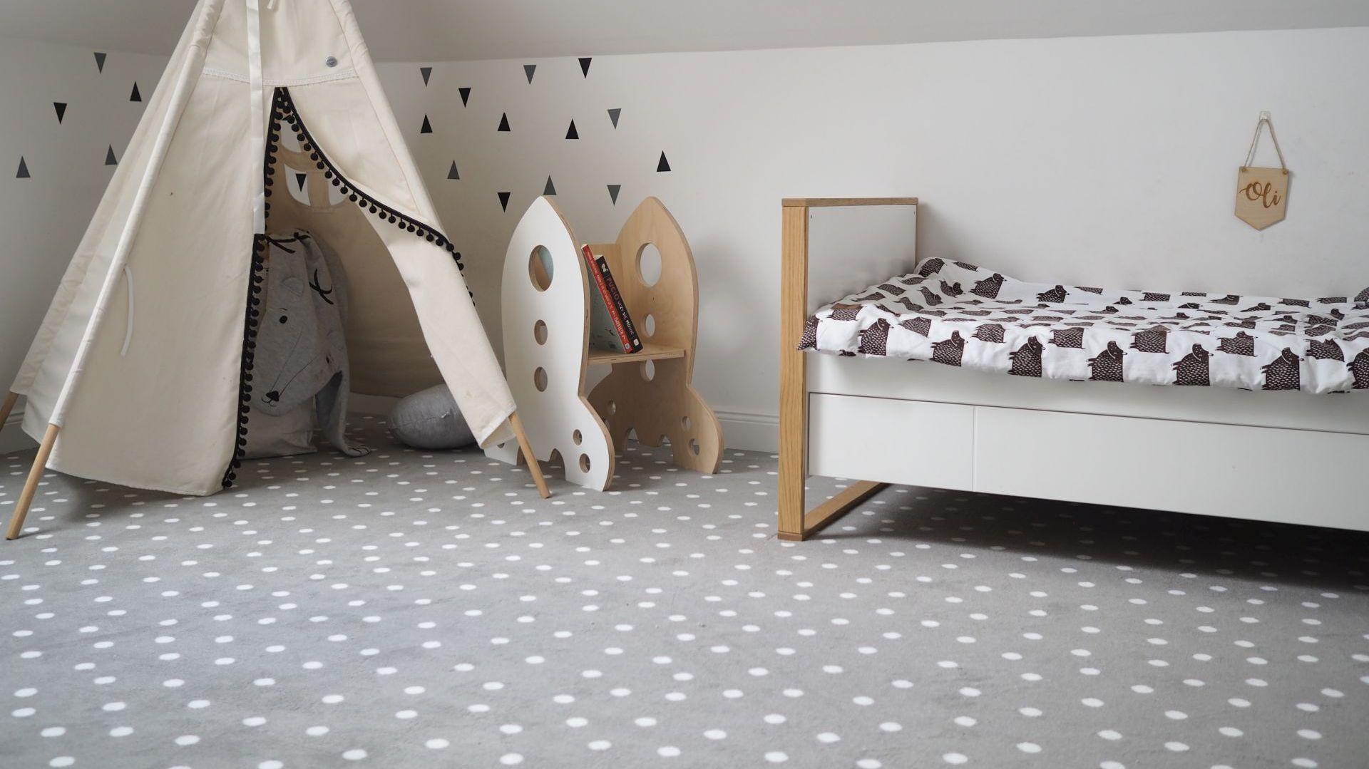 Wykładzina dywanowa gwarancją bezpieczeństwa w pokoju dziecięcym.JPG