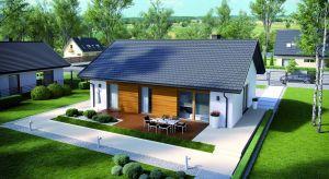 Niewielki, parterowy dom to doskonała propozycja dla inwestorów szukających nowoczesnego domu o prostej konstrukcji, który jest ekonomiczny w budowie i późniejszej eksploatacji.