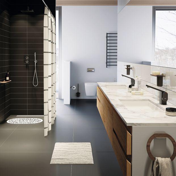 Strefę prysznica: zobacz wygodne akcesoria łazienkowe