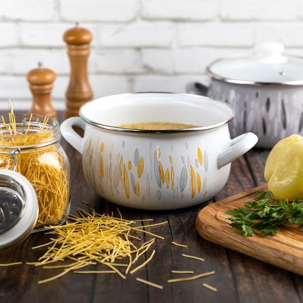 Gotuj zdrowo - zalety emaliowanych garnków