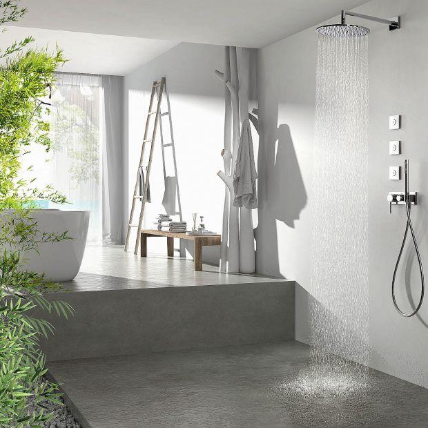 Strefa prysznica: przegląd baterii prysznicowych
