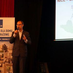 Wojciech Jankowski, przedstawiciel Nice Polska