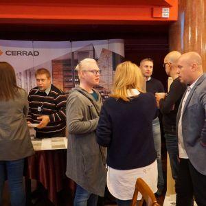 Stoisko firmy Cerrad - partnera głównego spotkania