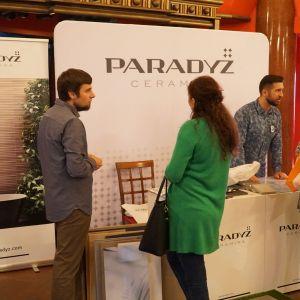 Stoisko firmy Ceramiki Paradyż - partnera głównego spotkania
