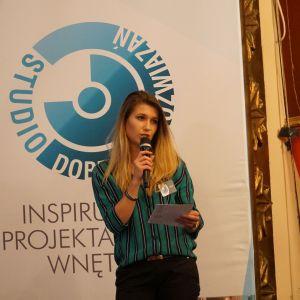 Magdalena Błażejczyk reprezentująca Elkamino Dom