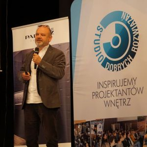Wystąpienie Dariusza Hermana - gościa specjalnego Studia Dobrych Rozwiązań w Koszalinie