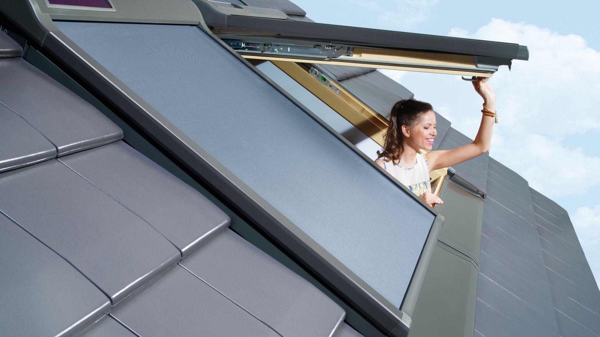 Markiza AMZ Solar/FAKRO. Produkt zgłoszony do konkursu Dobry Design 2019.