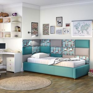 Aranżacja sypialni, system Smart Click. Fot. Comforteo
