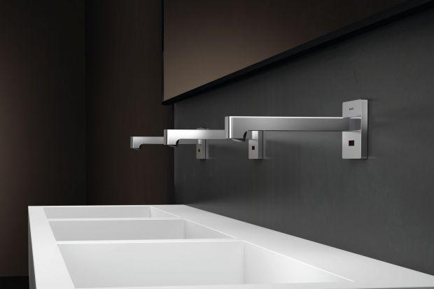 Smukłe, wyrafinowane i proste w instalacji Elektroniczne baterie umywalkowe zapewniają możliwość wyjątkowo higienicznego mycia rąk, jako że kurek jest otwierany i zamykany bezdotykowo. Produkt zgłoszony do konkursu Dobry Design 2019.