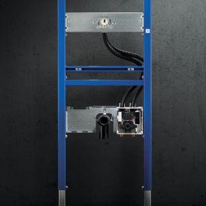 System baterii umywalkowych Geberit Brenta i Piave/Geberit. Produkt zgłoszony do konkursu Dobry Design 2019.