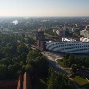 Unikalność projektu przejawia się zarówno w jego architektonicznej formie, jak i wielości realizowanych funkcji. Fot. materiały prasowe OVO Wrocław