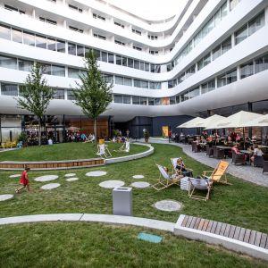 Projekt ten połączył w sercu metropolii biznes z kulturą, innowację z tradycją, towarzyskie spotkania z dyskusjami w elitarnym gronie. Fot. materiały prasowe OVO Wrocław