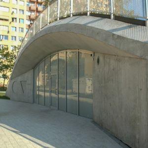 Toaleta Publiczna w Płocku/Geberit. Produkt zgłoszony do konkursu Dobry Design 2019.