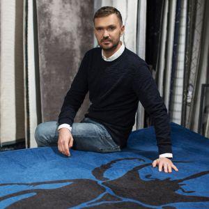 Maciej Zień zaprojektował dla marki Carpet Decor kolekcję dywanów Stone. Fot. Fargotex