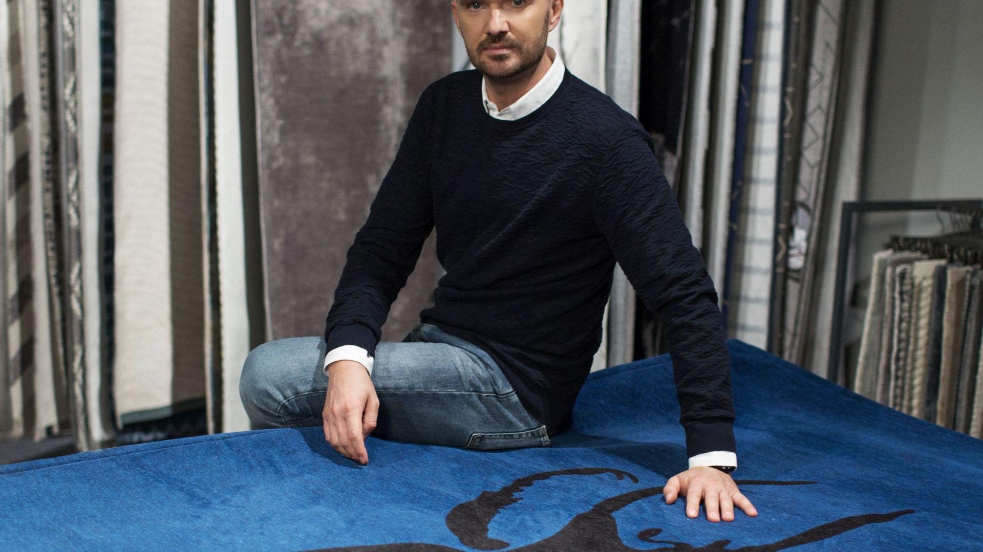 27350c9f7d Maciej Zień zaprojektował dla marki Carpet Decor kolekcję dywanów Stone.  Fot. Fargotex