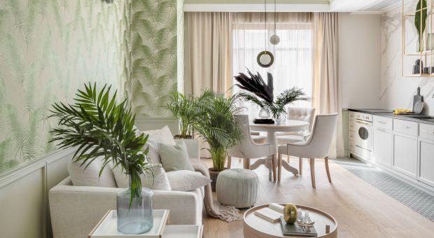 Mieszkanie pełne zieleni - zobacz przykład z Sopotu