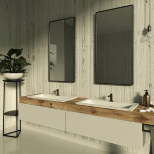 Nowoczesna łazienka w minimalistycznym stylu. Fot. Kappala