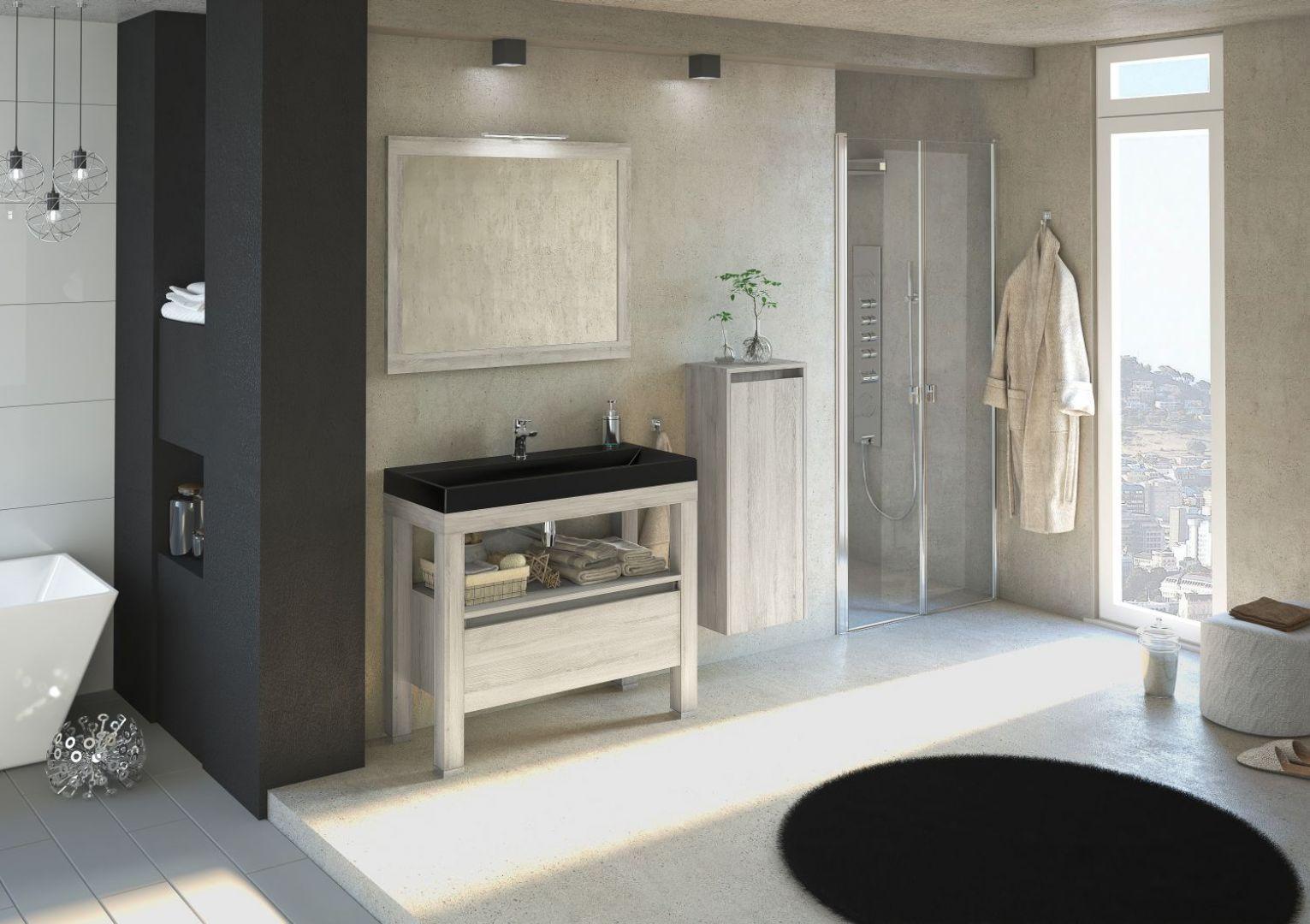 Ambiente to meble o prostych, naturalnych kształtach oferowane w czterech dekorach drewna. Fot. Devo