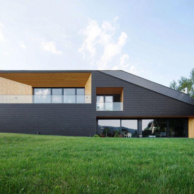 Czarna Skała - nowoczesny dom na zboczu góry